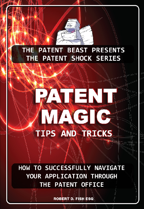 Cover of Patent Magic, by Bob Fish